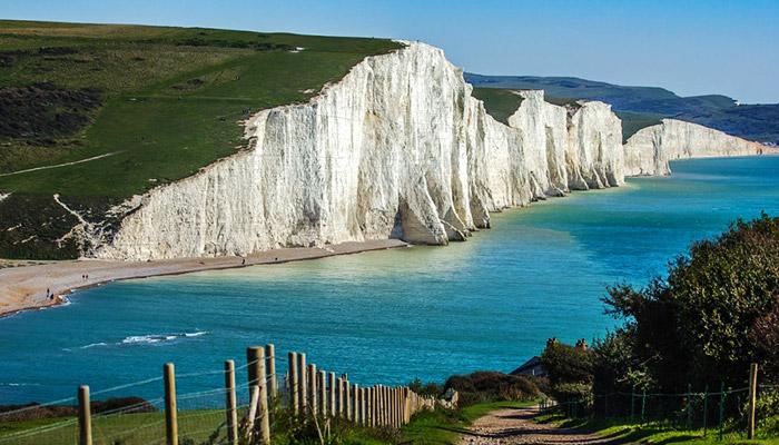 英国南岸美景,七姐妹白色悬崖