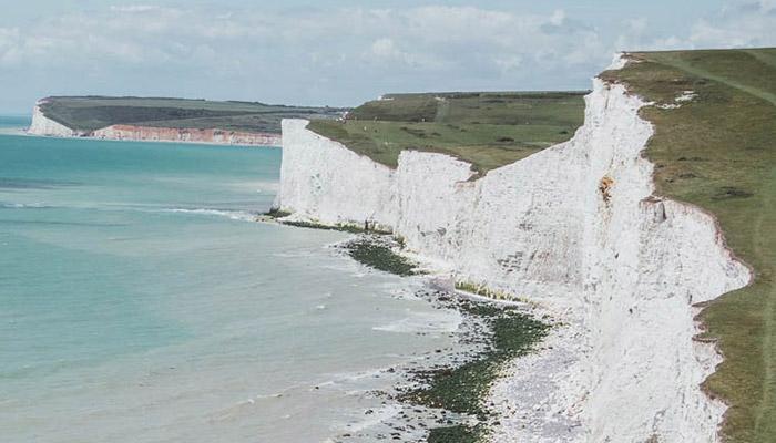 从另一边看七姐妹悬崖的美景