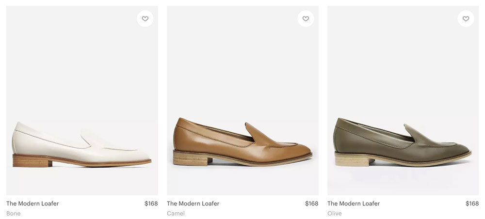 The Modern Loafer 鞋子