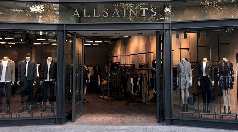 Allsaints 店面