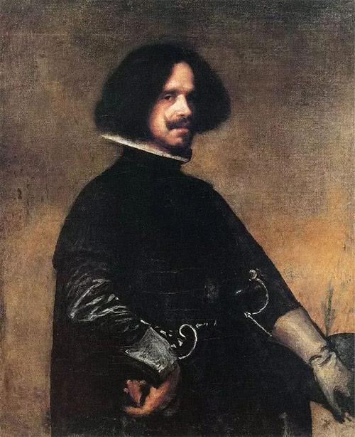 画家迪亚哥·委拉斯凯兹的自画像