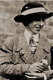 妇女参政权论者及持刀摧毁画作者玛丽·理查森