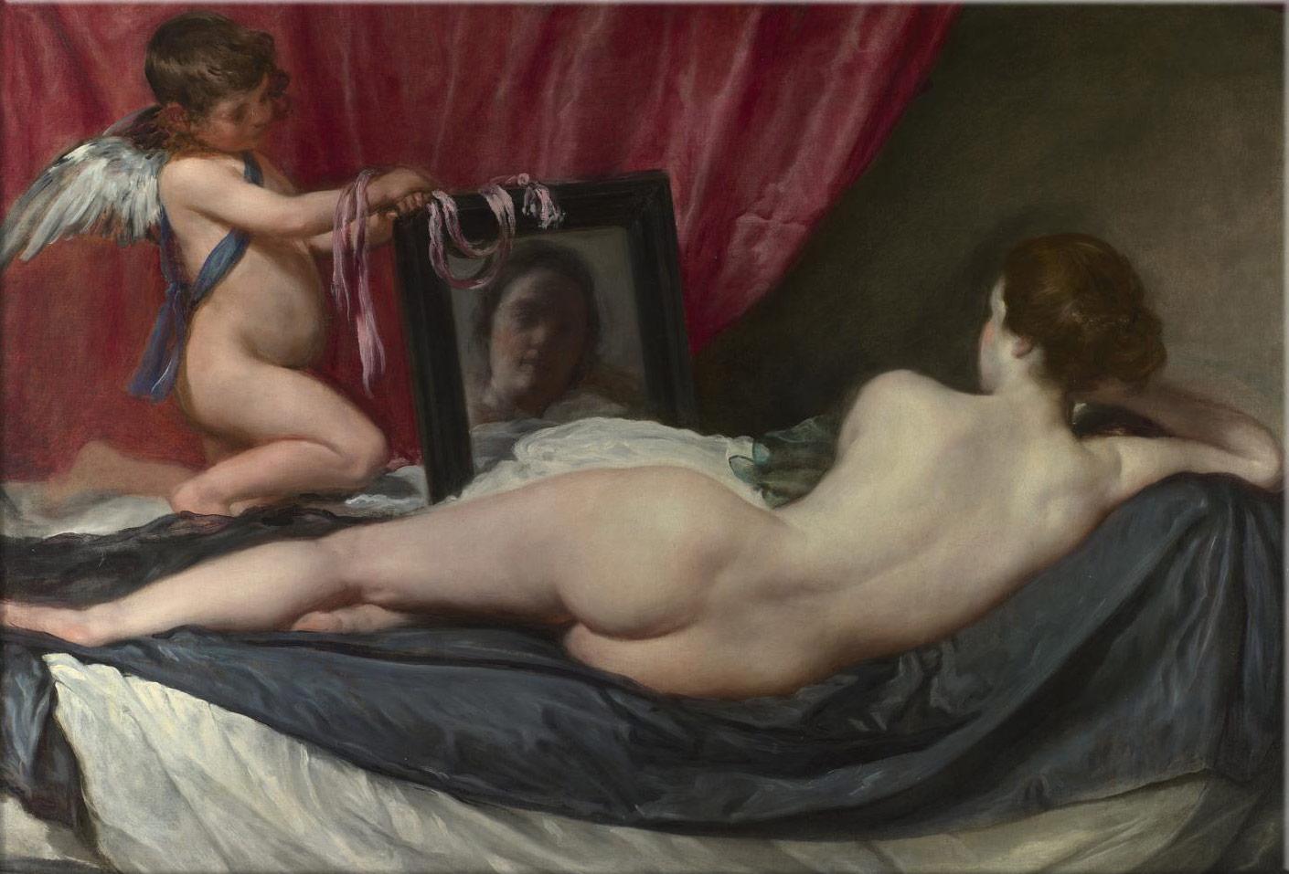 伦敦国家博物馆 镜前的维纳斯 The Rokeby Venus