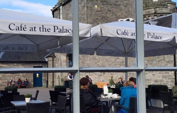 荷里路德宫的餐厅Cafe at the Palace