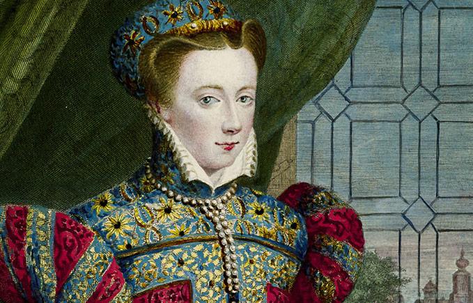 QUEEN MARY 女王 苏格兰最美的女人