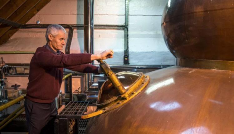苏格兰威士忌酿制过程