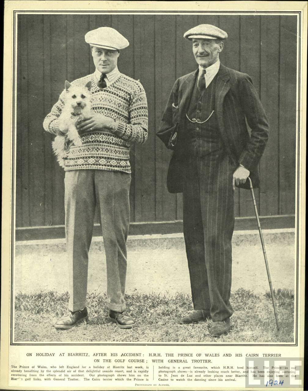 国王和他的费尔岛毛衣
