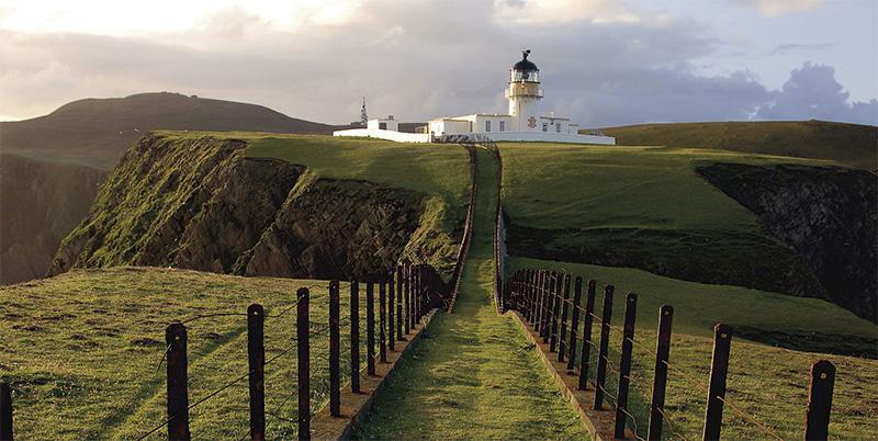 费尔岛的灯塔
