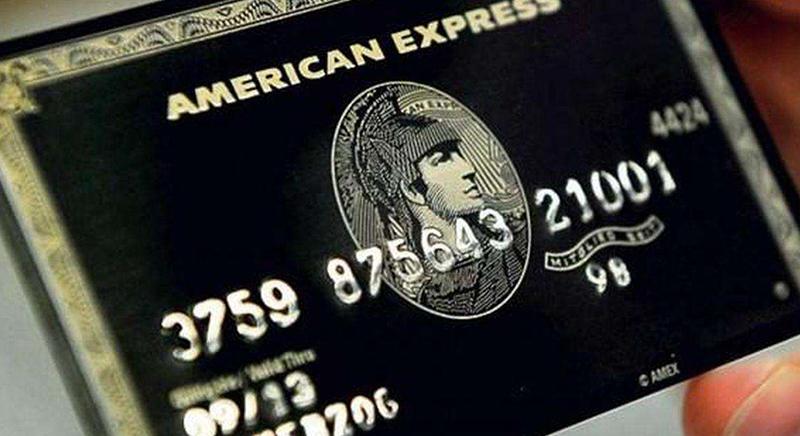 美国运通百夫长信用卡