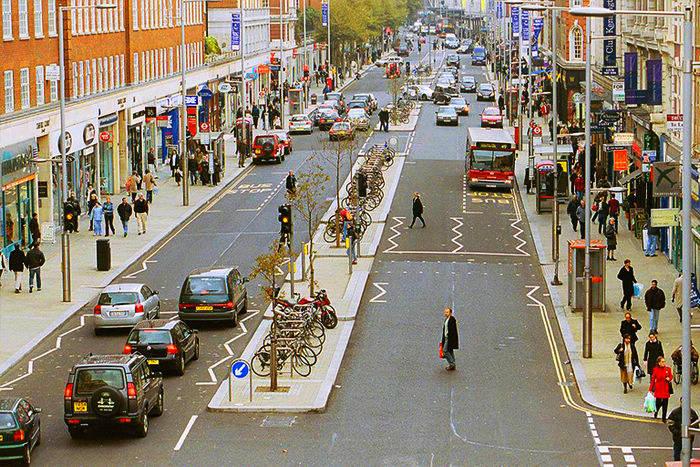 伦敦购物街