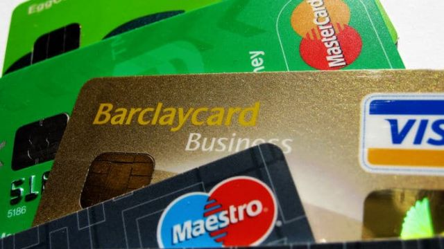 credit-cards-VISA-MasterCard-with-embedded-chip-UK-issued-consumer-and-business-foil-holograms-issuers-Barclaycard-Egg-Clydesdale-closeup-2-DHD.jpg