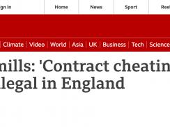 英国政府宣布:论文工厂和论文代写将被列入刑事犯罪!
