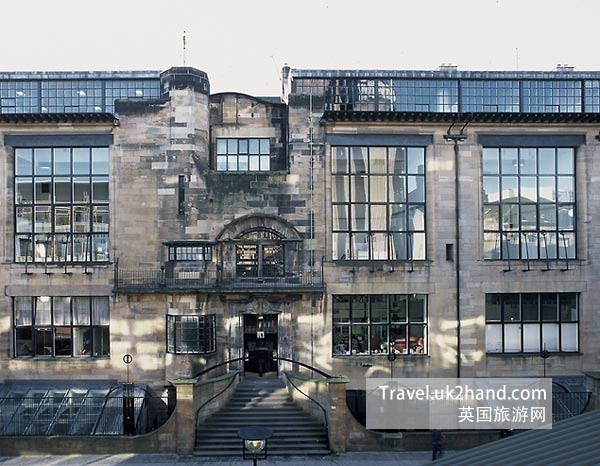 Mackintosh Building 正面摄影
