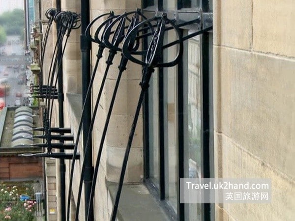 macknitosh 外窗的铁艺设计